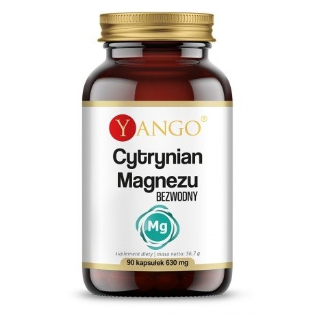 Yango Cytrynian Magnezu 90 kaps
