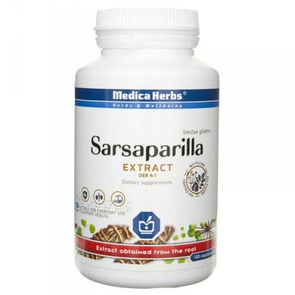 Medica Herbs Smilax (Sarsaparilla) 120 kaps.