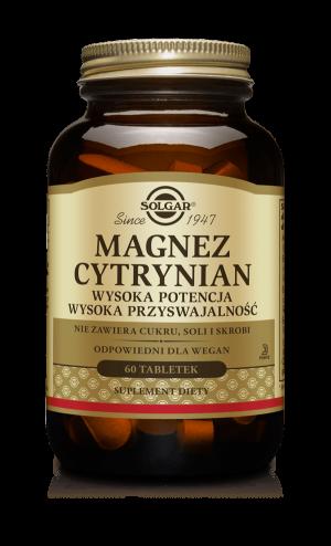 Solgar Magnez cytrynian