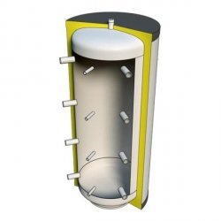 Zbiornik buforowy PSI 100l w izolacji