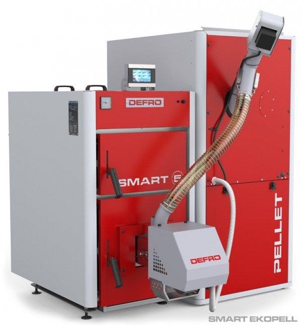 KOCIOŁ PIEC DEFRO Smart EKOPell 28 kW'