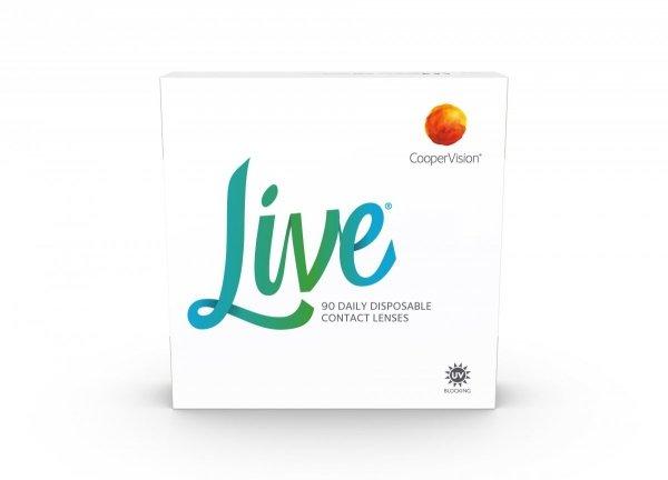 Soczewki jednodniowe Live 90 szt