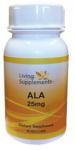 Kwas alfa liponowy ALA 25 mg - 90 kapsułek Alpha Lipoic Acid