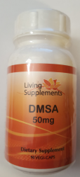 DMSA 50mg  90 kapsułek - chelatacja chelacja rtęci ołowiu