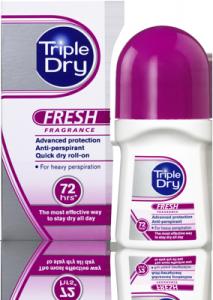 TRIPLE DRY- Quick dry Roll-on- kulka zapachowy 50ml - nadpotliwość