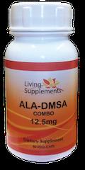 ALA/DMSA COMBO 12,5 mg  = kwas alfa liponowy ALA 12,5 mg + kwas dimerkaptobursztynowy DMSA 12,5 mg  - 90 kapsułek