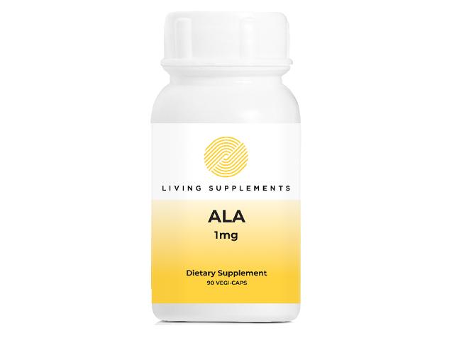 Kwas alfa liponowy ALA 1 mg - 90 kapsułek Alpha Lipoic Acid