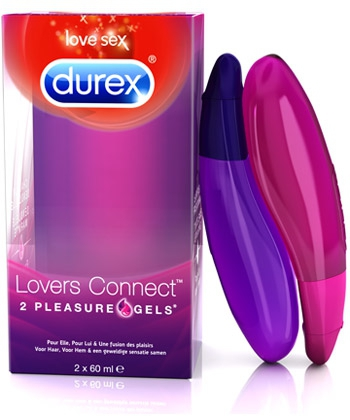Durex Lovers Connect - żele intymne (2x60ml)