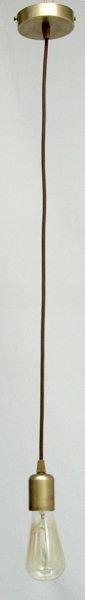 Żyrandol mosiężny JBT Stylowe Lampy WZMB/W84/1 PB