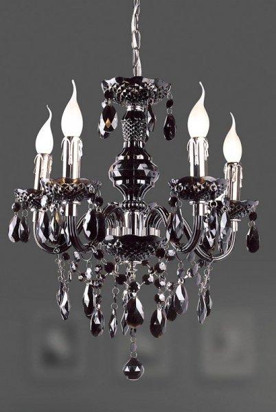 Lampa wisząca Italux Whiz L.90690/5BL