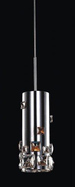 Lampa wisząca  Italux Evan Chrome MD1101807-1D CH
