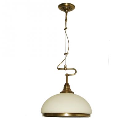 Żyrandol mosiężny JBT Stylowe Lampy WZMB/W53/1