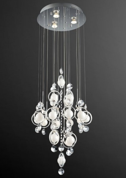 Lampa Sufitowa Italux Lisa Md09080 9plus3a żyrandole