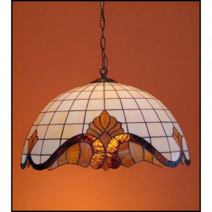 Żyrandol witrażowy Classic średnica 50cm Baro