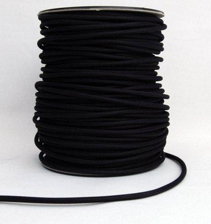 Kabel w oplocie 2x0,75 kolor czarny