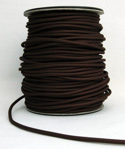 Kabel w oplocie 2x0,75 kolor brązowy