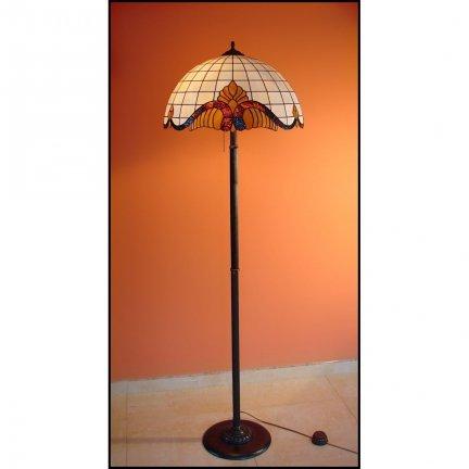 Lampka podłogowa witrażowa   Classic średnica 50cm Baro