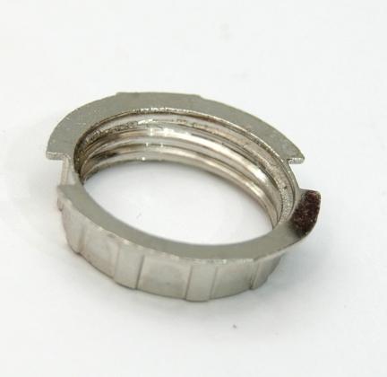 5x pierścień kołnierz nakrętka metalowa do oprawki G9