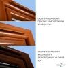 Nawiewnik higrosterowany EXR + łącznik akustyczny + okap akustyczny - 5 kolorów