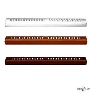 Nawiewnik ciśnieniowy akustyczny AMI + okap standardowy - 4 kolory