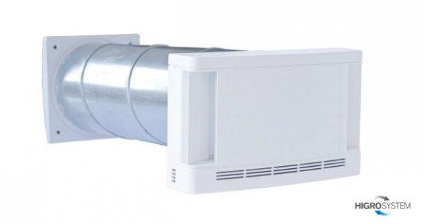 Nawiewnik ścienny higrosterowany EHT.LEG.930 z wytłumieniem akustycznym