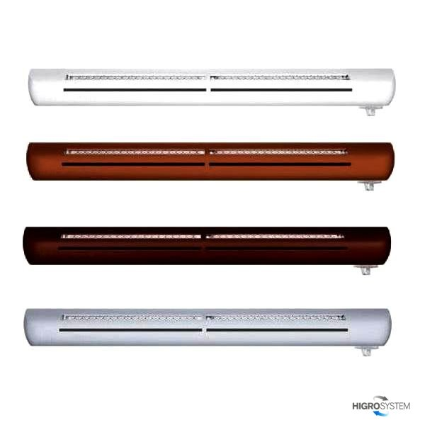 Nawiewnik higrosterowany EXR + podkładka montażowa (bez okapu) - 4 kolory