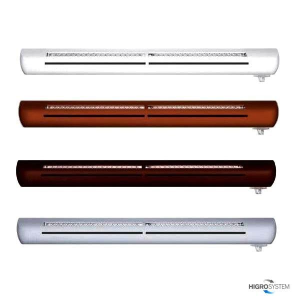 Nawiewnik higrosterowany EXR + podkładka montażowa + okap akustyczny - 4 kolory