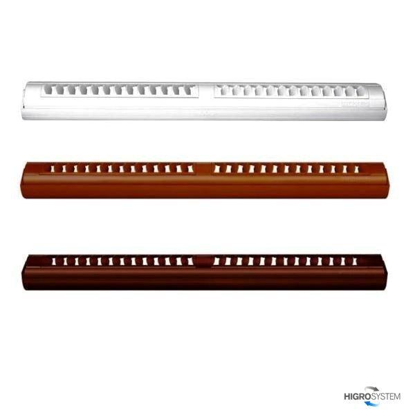 Nawiewnik ciśnieniowy akustyczny AMI + okap standardowy - 3 kolory