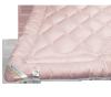 Kołdra wełniana, wełna Inter-Widex 220x200 wz. różowy
