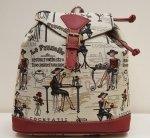 Plecak - torba która cieszy. 30x30 wzór 02