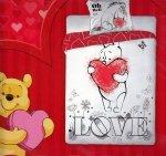 Pościel licencyjna Disney 100% bawełna 160x200 lub 140x200  - Winnie the Pooh no.12