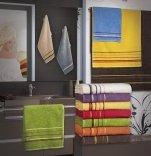 Ręcznik PROMOCJA, grube ręczniki 50x90 - kolekcja Mars wz. fioletowy
