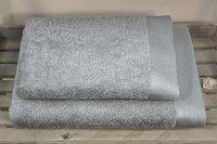 Ręczniki BAMBOO STYLE Andropol 70x140 wz. szary ciemny