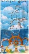 Ręcznik plażowy wz. Baltic Sea 2 - rozmiar 70x148