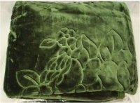 Koc akrylowy Elway, 160x210 z narzutami na fotele 70x160 wz. EL57