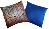 Poduszka matematyczna 40x40 wz. 04/niebieski