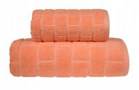 Ręcznik BRICK 70x140 kolor brzoskwiniowy