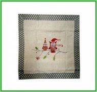 Poszewka na poduszkę 45x45 - Świąteczne wzory 100% bawełna wz. Niko 2491