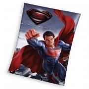 Koc polarowy wz. Superman 110x140