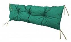 Poduszka na huśtawkę ławkę 120x40 wz. Ciemnozielony