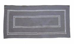 Obrus Haftowany Bruna 59-G 50x100 cm kolor: odcień grafitu