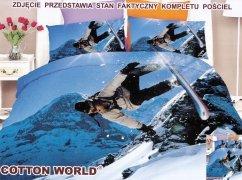 Pościel Premium Mikrowłókno 3D roz. 160x200 lub 140x200 wz.FPP34
