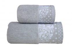 Ręcznik MELISSA 50x90 kolor jasny popiel