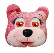 Poduszka emocji - Przytulanka Misio różowy