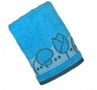 Ręcznik TULIPANO 70x140 kolor niebieski