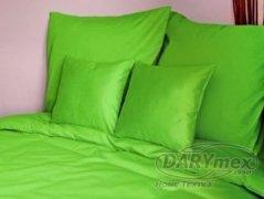 Poszewka na poduszkę 70x80 satyna zapięcie na zamek ANDROPOL kolor nowa zielen 014