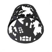 Klosz metalowy do średniej świecy WoodWick Haunted House, Core lub Trilogy - Czarny