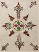 Ścierka Ludowa 100% bawełna 52x65cm wz. 13 krzyż