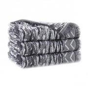 Ręcznik INDIANA z frędzlami 50x100 kolor szary