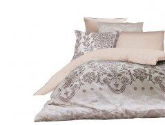 Pościel bawełniana DARYMEX kolekcja Exclusive Cottonlove 160x200 lub 140x200 + 2x70x80 wz. DALYAN ECRU